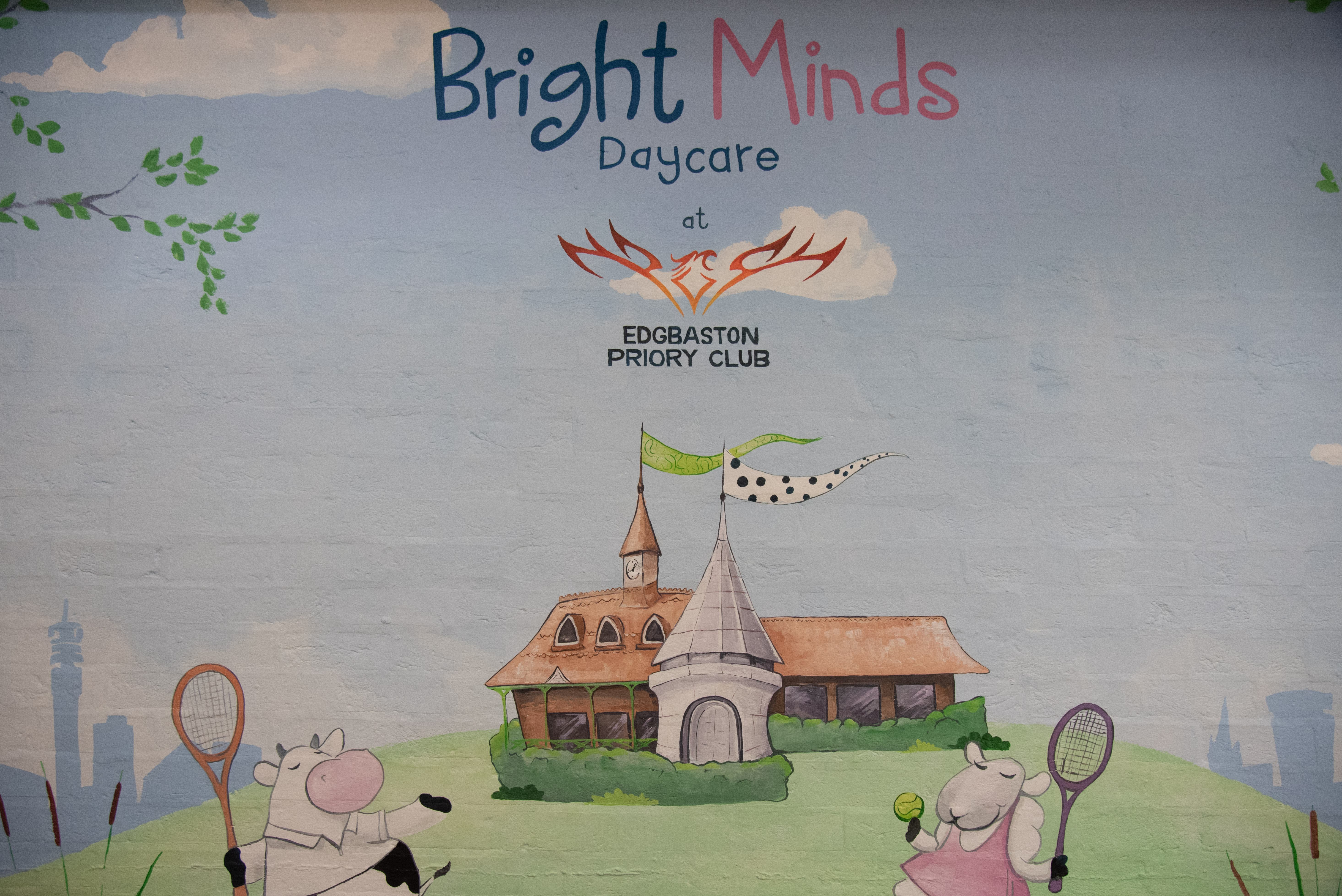 Bright Minds Wall Mural