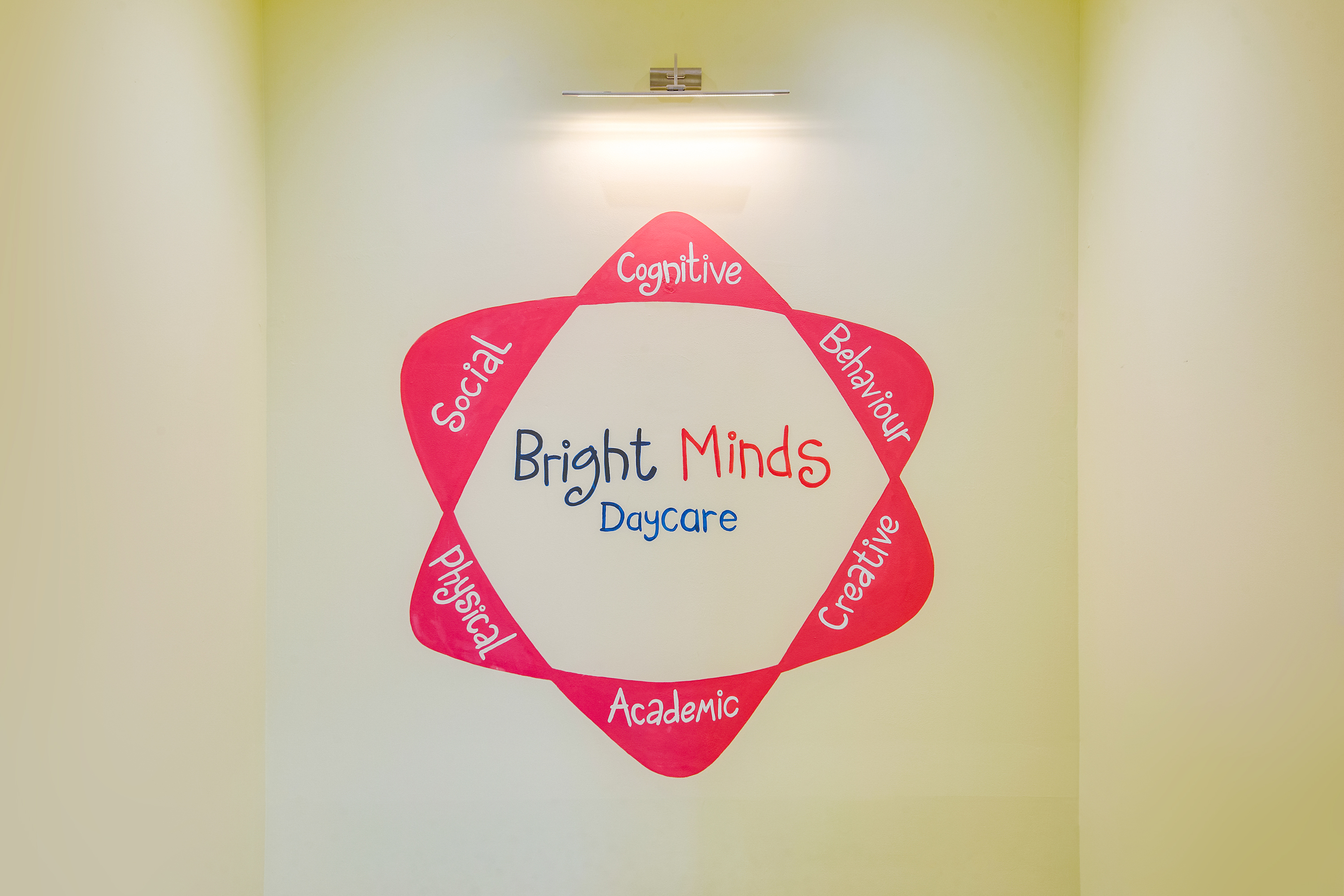 Bright Minds Landing Logo
