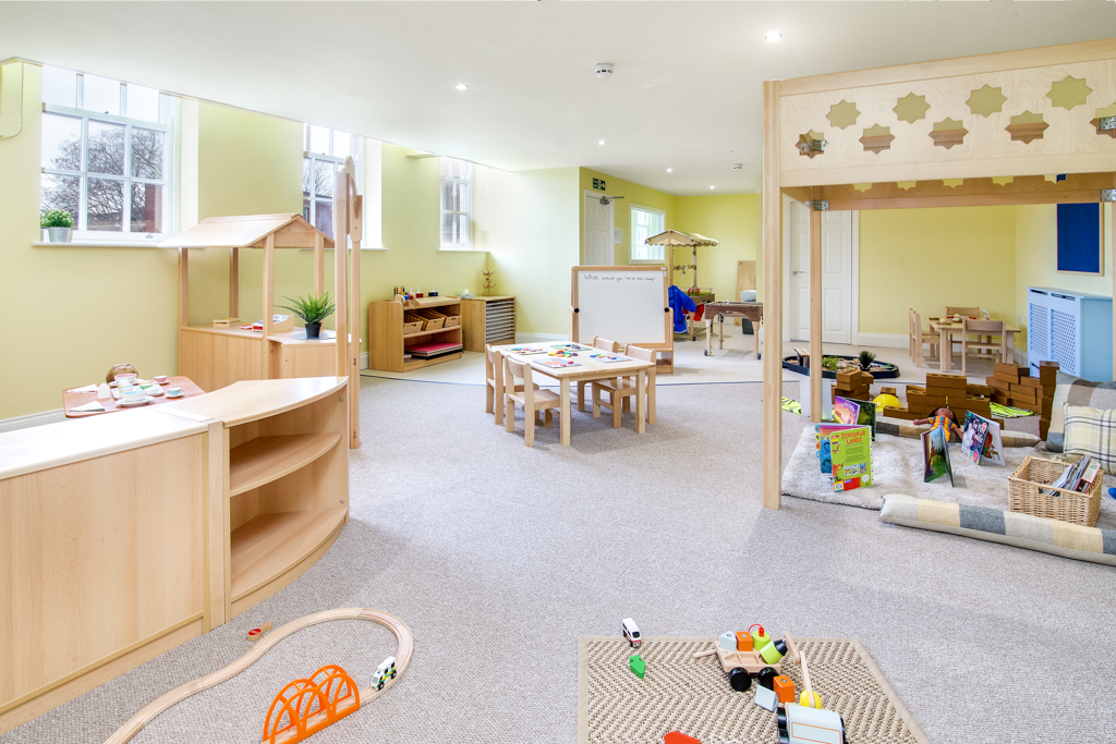 Bright Minds Toddler Room Wide Angle