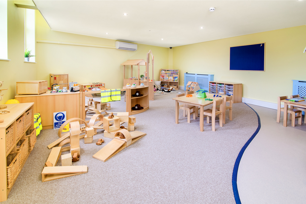 Bright Minds Pre-School Room Wide Angle