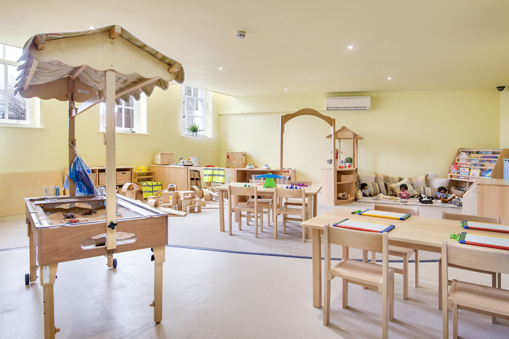 Bright Minds Pre-School Room